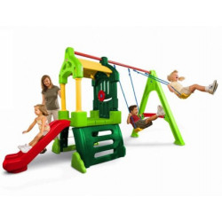 Clubhouse Swing Set - Natural