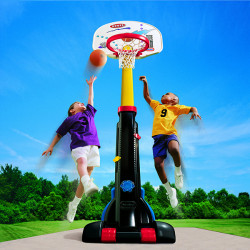 Easy Store Basketball Set
